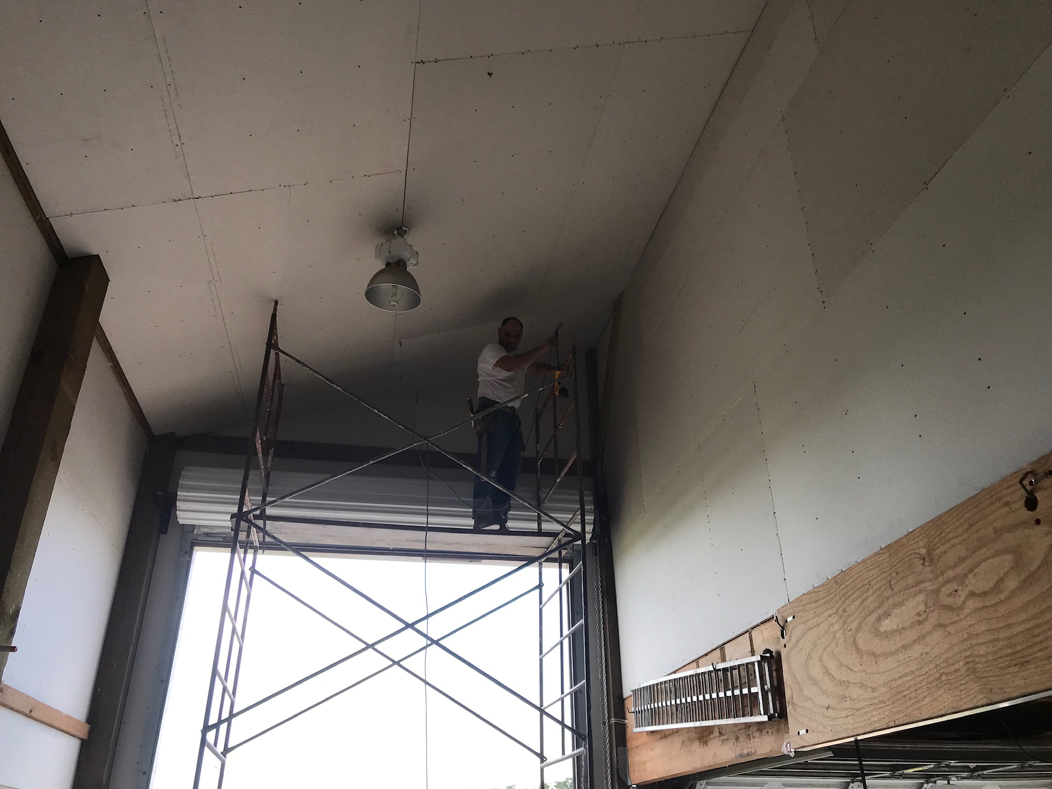 New Drywall Installation
